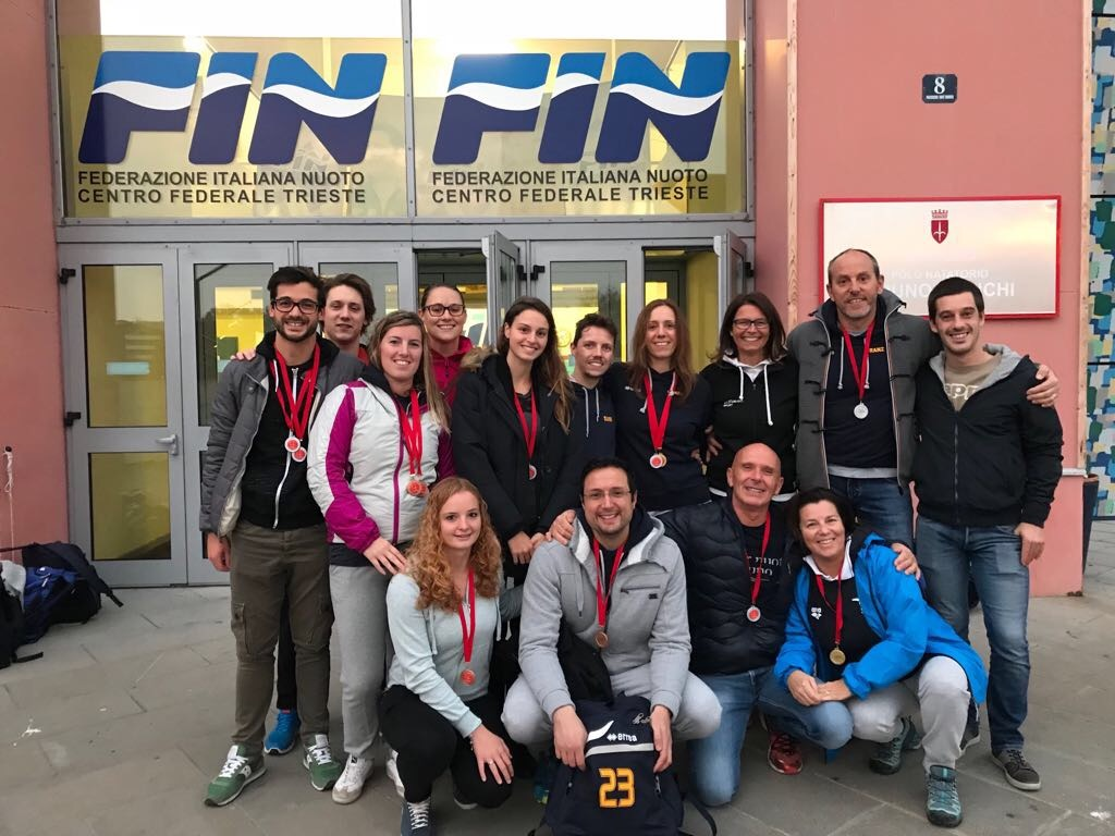 Nuoto master: Sportivamente Belluno quarta a Trieste.
